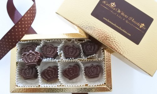 Crown Vegan Dark Chocolate Box
