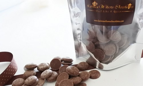 vegan organic dark chocolate buttons