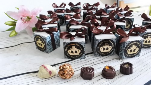 luxury chocolate favour boxes