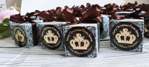 personalised chocolate favour boxes