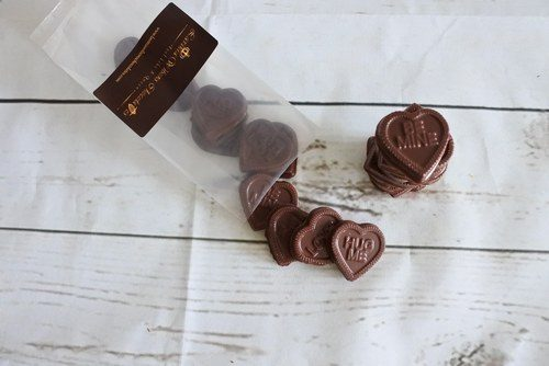 Vegan Chocolate hearts