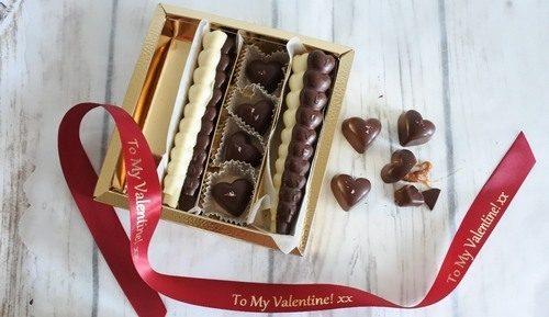 assorted chocolate love sticks
