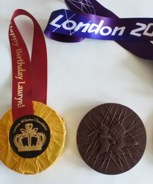 Large Chocolate Medals