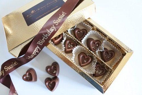 vegan vanilla chocolate hearts