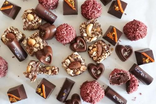 vegan assorted chocolate box