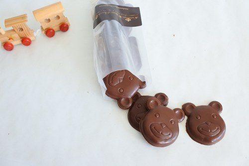 Vegan Chocolate Teddy Bears