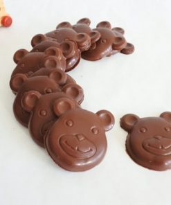 Vegan Chocolate Teddy Bears