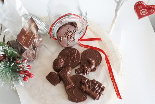 Personalised Vegan Christmas Chocolates