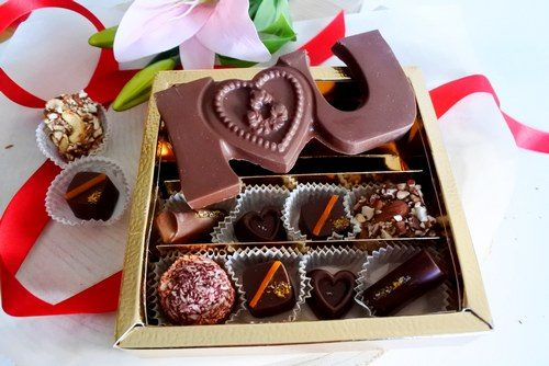 I love you chocolate